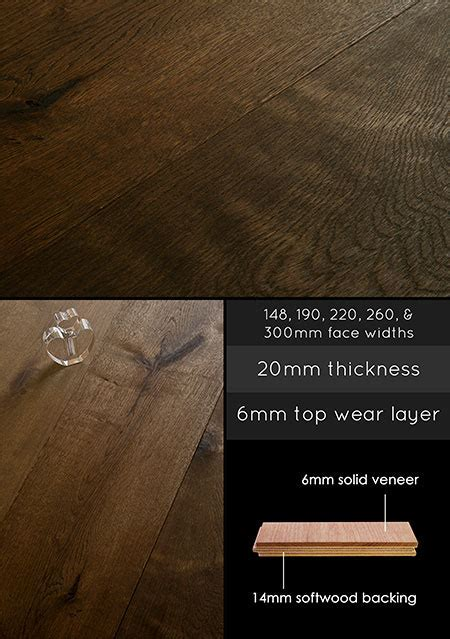 Engineered Wood Flooring   Smoked Brushed & Oiled Oak Floor