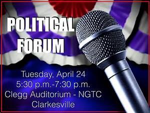 Political Forum... Political