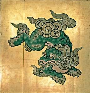Komainu Portraits – Religion-in-Japan | tattoo | Pinterest ...