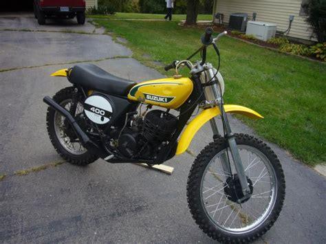 Used Suzuki Dirt Bikes For Sale by 1974 Suzuki Tm400 Dirt Bike For Sale On 2040 Motos