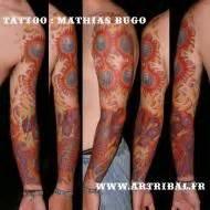 Tatoueur Mathias Bugo  Festival Du Tatouage De Chaudesaigues