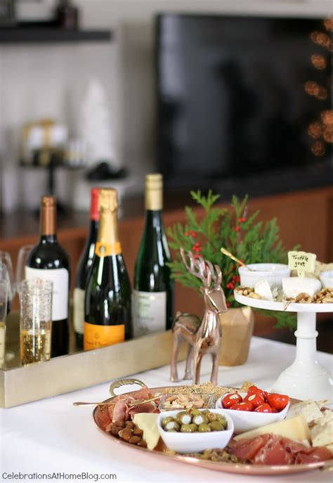 Host An Easy Cocktail Party For The Holidays