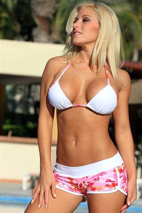 gloria guida swimsuit shapely beach bikini sexy bikinis afashion