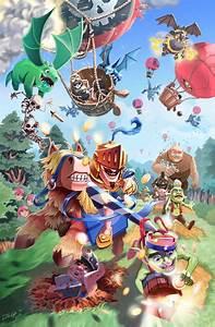 Los Mejores Fan Art De Clash Royale