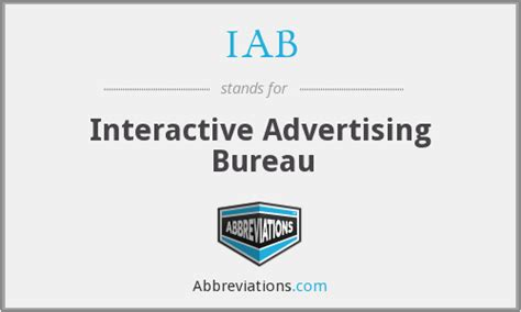advertising bureau iab iab advertising bureau