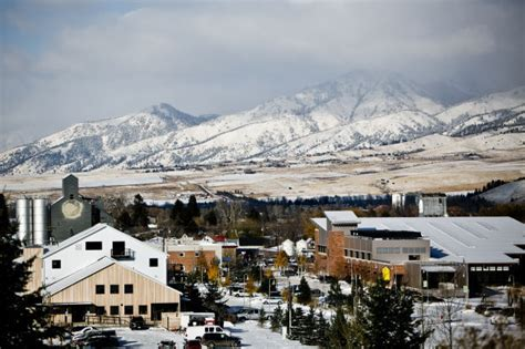 bozeman population growth outpaces  montana cities