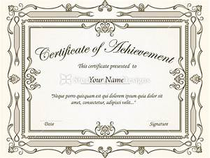 Certificate Border Vector Set-2 | Vector & Photoshop ...