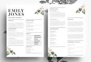 modern resume psd word file resume templates on