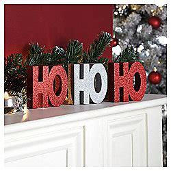 buy tesco ho ho ho christmas decoration from our all