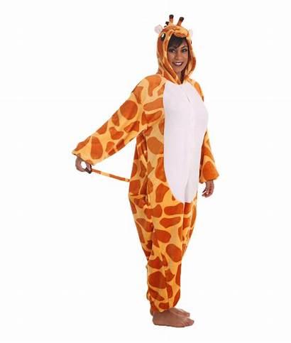 Onesie Animal Adult Giraffe Onesies Onsie Funzee