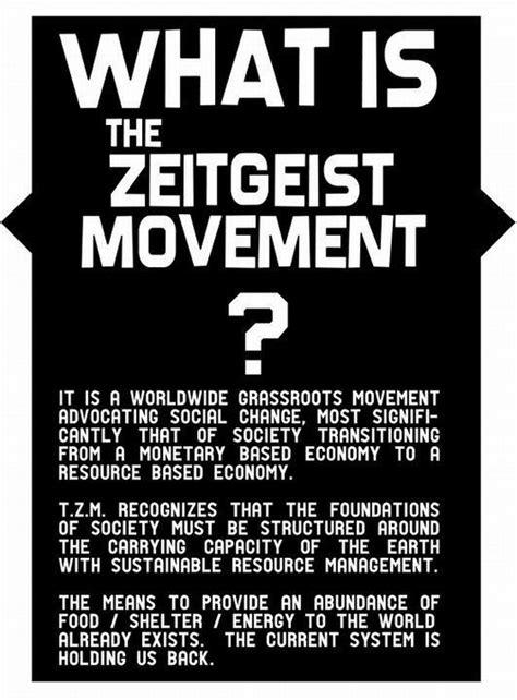 What Is The Zeitgeist Movement?  Ha! Tea 'n' Danger