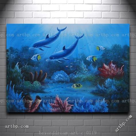 Magical Underwater Sea World Oil Painting Naturalism