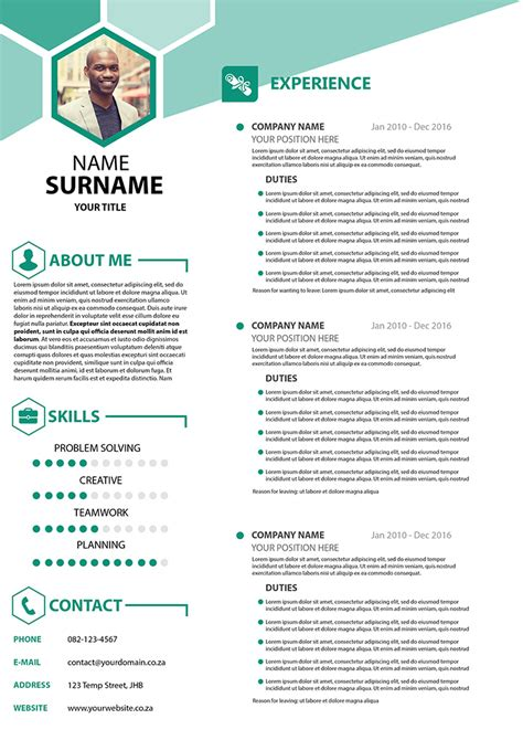 Cv For by Business Cv
