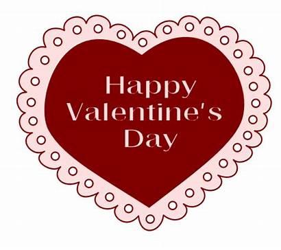 Happy Clipart Valentine Valentines Lace Transparent Clip