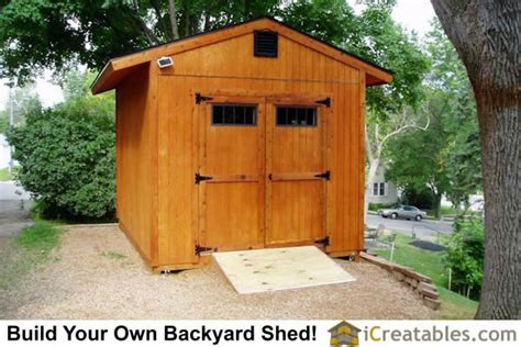 10x14 garden shed plans 10x14 gable shed plans icreatables sheds