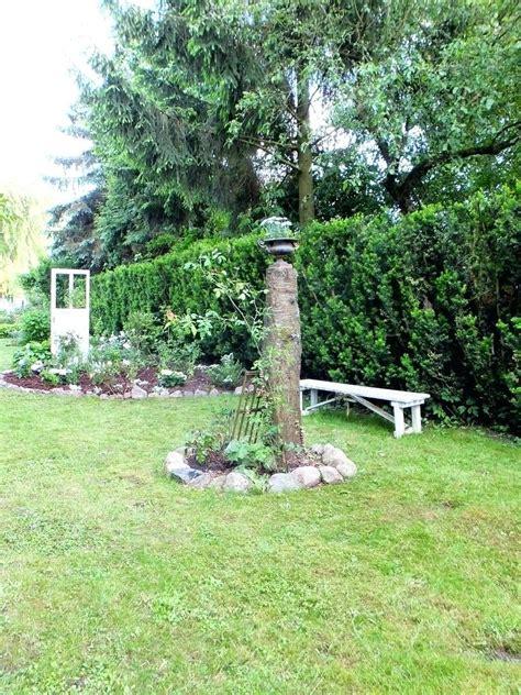 Gartendeko Holz Baumstamm by 24 Dekoideen Aus Baumstamm Fa 1 4 R Haus Und Garten Avec