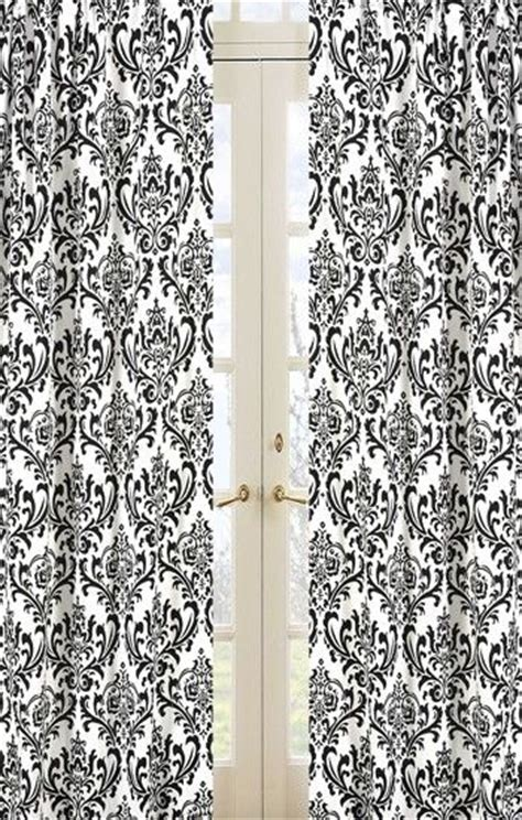 damasks curtains and living dining rooms on