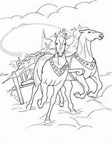 Fire Chariot Coloring Chariots Elijah Sunday Bible Pages Ink Illustration Crafts Heaven Template Craft Sketch Taken Illustrations Visit Kings sketch template