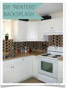 easy bathroom backsplash ideas 43 clever diy ideas for renters diy