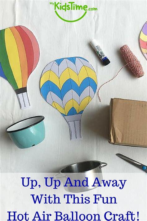 fun hot air balloon craft