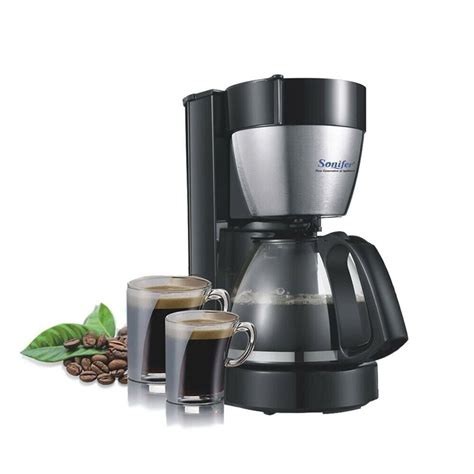 This drip machine also comes with a special single cup filter basket for kalita wave filters. Electric Drip Coffee Maker Household Large Machine 12 Cup Tea Pot 220V 1.25L - Coffee, Tea ...