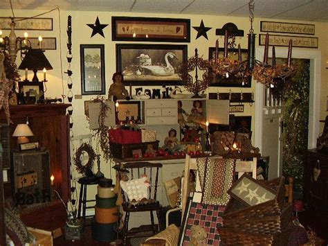 Country Primitive Home Décor: Primitive Decorating Ideas