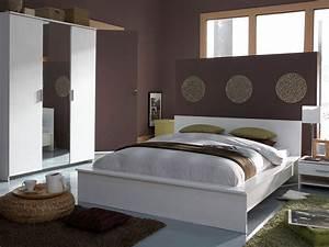Chambre Complete Adulte : chambre compl te adulte esther 42997 ~ Carolinahurricanesstore.com Idées de Décoration