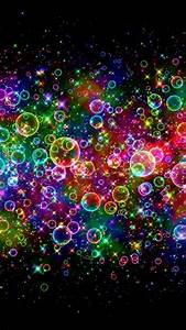 Colorful Neon Light Bubbles | Daily iPhone 6/5/4 ...