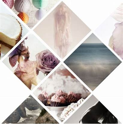 Board Moodboard Mood Layout Template Graphic Collage