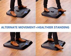 licloud standing desk mat ergonomic anti fatigue comfort
