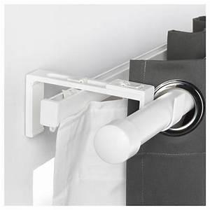 Ikea Vidga Video : vidga curtain rod holder white ikea ~ Buech-reservation.com Haus und Dekorationen