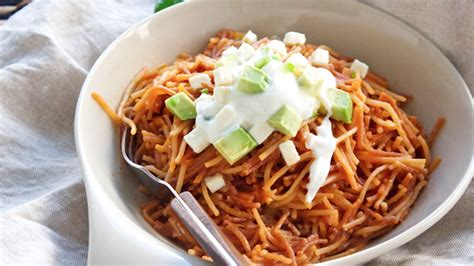 culinary cuisine food try sopa seca an easy noodle casserole