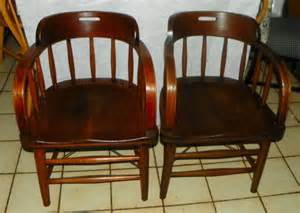 oak captains chairs for sale classifieds