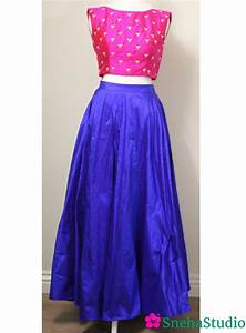 Long Skirt and Crop Top - Bing images