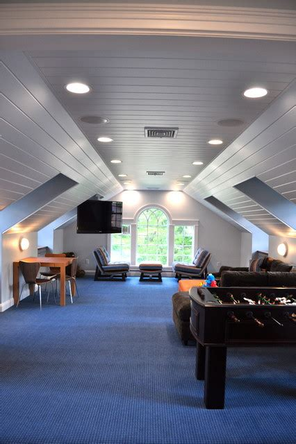 great ideas      attic space