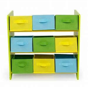 Etagere Chambre Enfant : meuble de rangement tag re jouet panier chambre enfant motif jungle ape06042 d coshop26 ~ Teatrodelosmanantiales.com Idées de Décoration