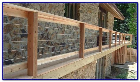 Deck Railing Ideas Cheap by Inexpensive Deck Railing Ideas Decks Home Decorating