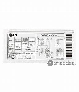 Wiring Diagram Blog  Lg Semi Automatic Washing Machine