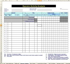 stream map template  microsoft excel