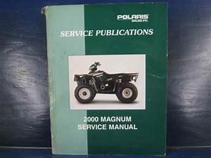 Buy Polaris 2000 Magnum 325 500 2x4 4x4 Service Shop