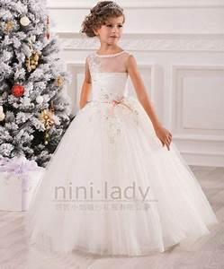 appliques robe de communion princesse fille mariage robe With robe de communion ikks