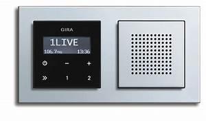 Gira Unterputz Radio Rds : gira rds flush mounted radio ~ A.2002-acura-tl-radio.info Haus und Dekorationen