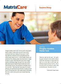 home care software solution matrixcare