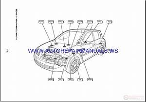 Renault Megane Ii X84 Nt8343 Disk Wiring Diagrams Manual