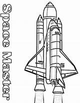 Rocket Coloring Nasa Space Pages Shuttle Booster Its Colouring Outline Clipart Rockets Printable Drawing Spaceship Kidsplaycolor Play sketch template