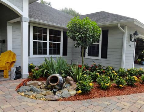 small front yard landscaping ideas  define  curb