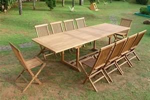 Table En Teck Jardin : meuble jardin teck promo table jardin reference maison ~ Melissatoandfro.com Idées de Décoration