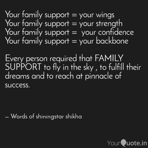 family support  quotes writings  shikha
