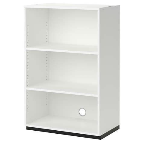 bureau 90 cm de large galant shelf unit white 80x120 cm ikea