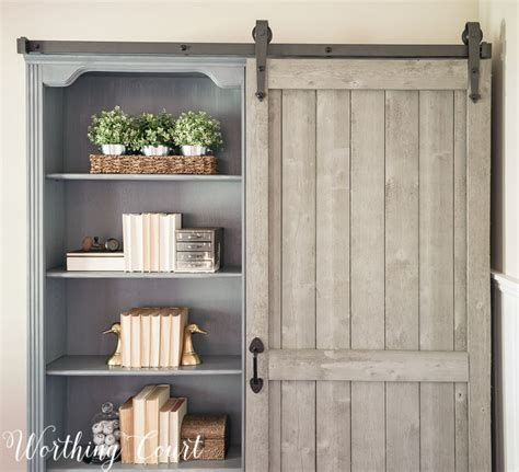 wood farmhouse barn door bookcase wood farmhouse barn door bookcase 28 images wood